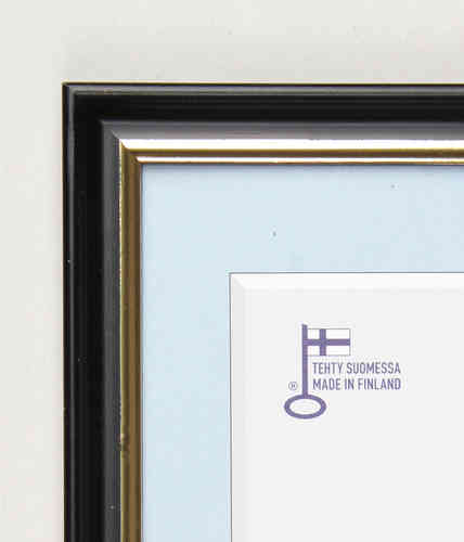 Decora black wooden frame